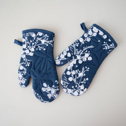 Oven Mitts | Screen Print