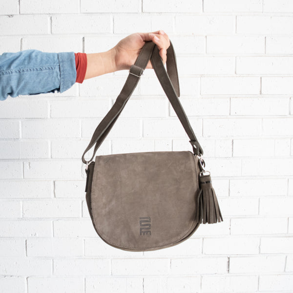 grey-leather-crossbody-bag-or-purse-fairtrade-and-handmade-in-Africa