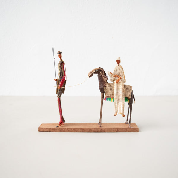 Mary & Joseph Figurine - Kenyan materials and design for a fair trade boutique