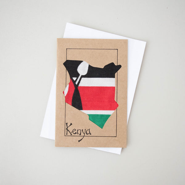 Kenya Card - Kenyan materials and design for a fair trade boutique