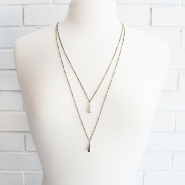 Double Cone Necklace