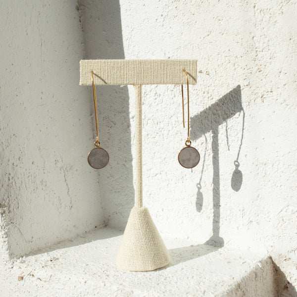 Soapstone Charm Earrings