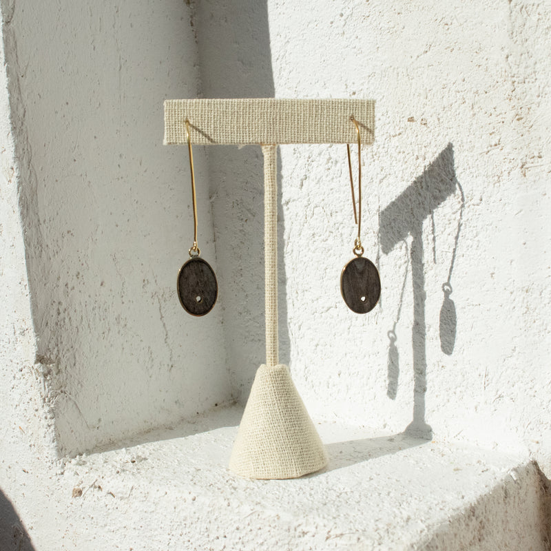 Bone Charm Earrings