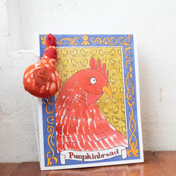 """Pumpkinbread"" Children's Book - Kenyan materials and design for a fair trade boutique"
