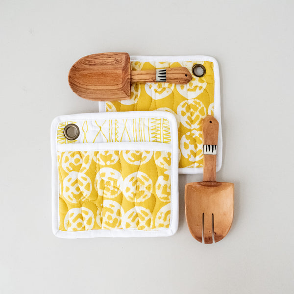 Pot Holder & Spoon Set | Batik