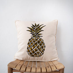 Pineapple Pillow - Kenyan materials and design for a fair trade boutique
