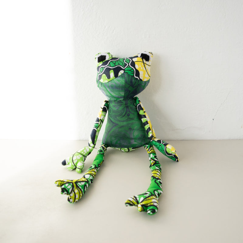 Frog Doll - Kenyan materials and design for a fair trade boutique