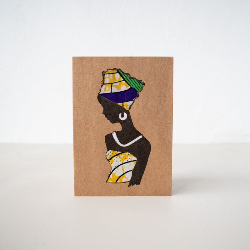 Dignity Card - Kenyan materials and design for a fair trade boutique