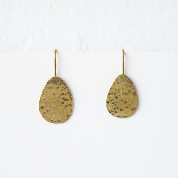 Dewdrop Earrings - Kenyan materials and design for a fair trade boutique