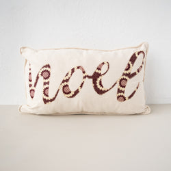 Noel Pillow - Kenyan materials and design for a fair trade boutique