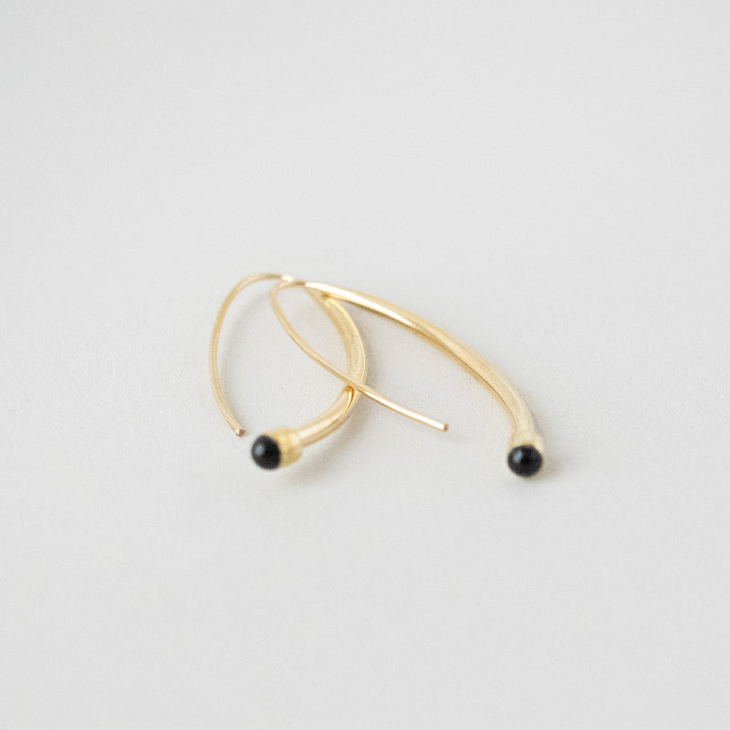 Halo Hoop Earrings