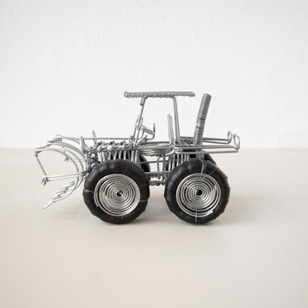 Wire Tractors - Kenyan materials and design for a fair trade boutique