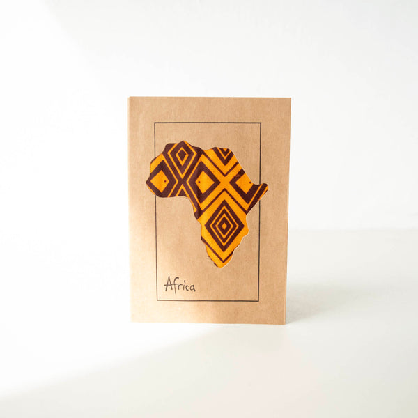 Africa Card - Kenyan materials and design for a fair trade boutique