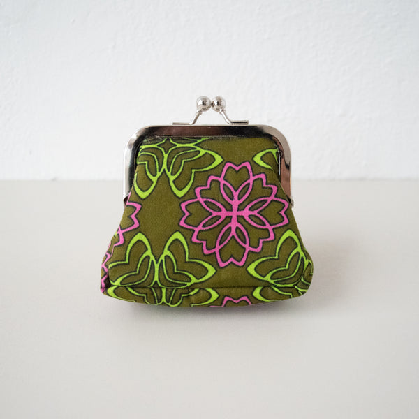 Sasstown Coin Purse - Kenyan materials and design for a fair trade boutique