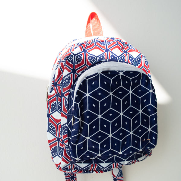 Kitenge Backpack