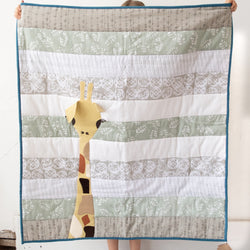 Bella Baby Quilt - Kenyan materials and design for a fair trade boutique