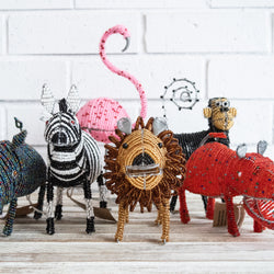 Shanga Animals - Kenyan materials and design for a fair trade boutique