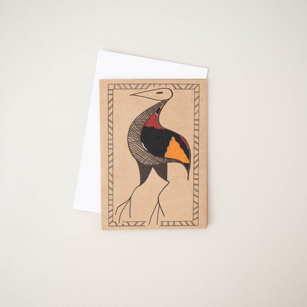 West African Bird Card