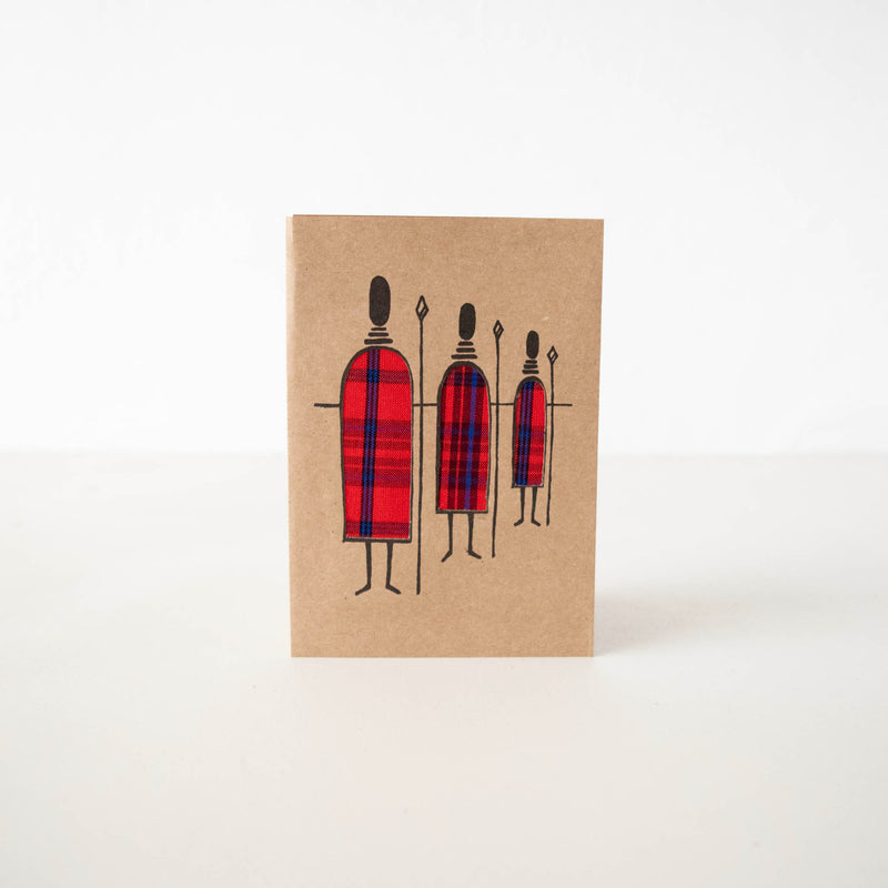 Maasai Men Card