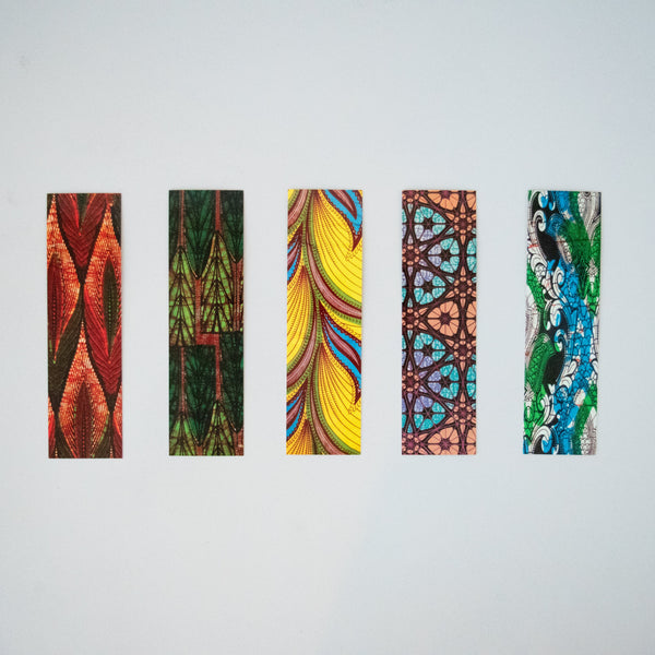 African Print Bookmark