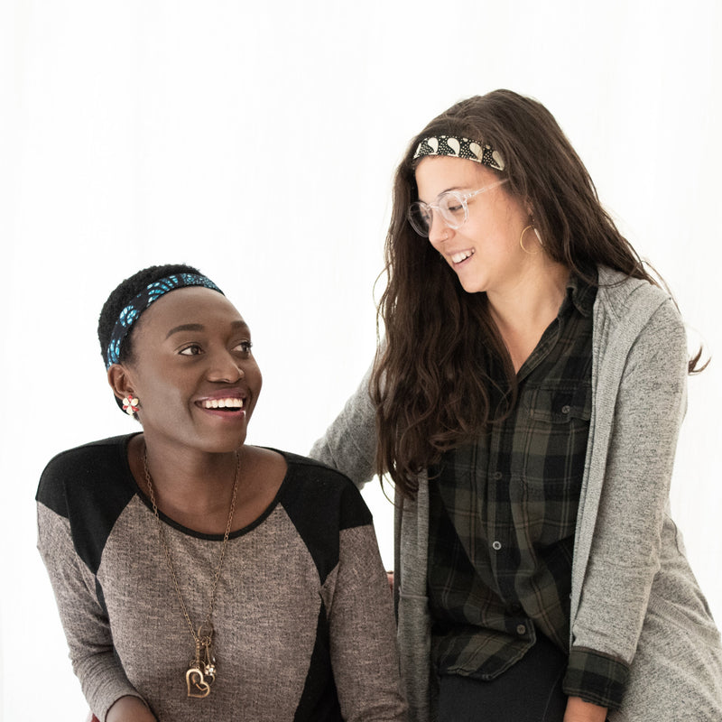 Kitenge Headband - Kenyan materials and design for a fair trade boutique