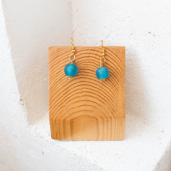 Bottle Bead Earrings
