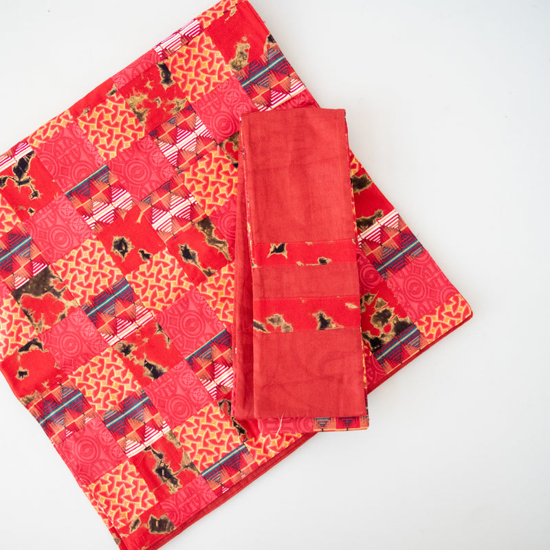 Liturgical Table Runner & Stole Set - Kenyan materials and design for a fair trade boutique