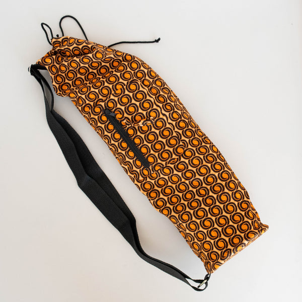 Kitenge Yoga Mat Bag - Kenyan materials and design for a fair trade boutique