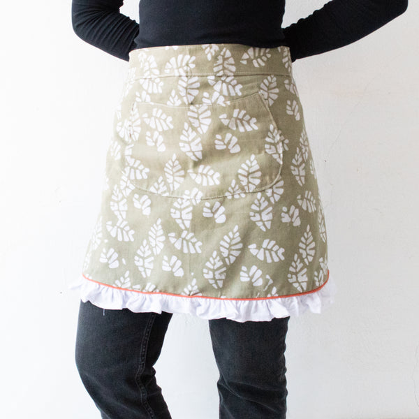Batik Half Apron - Kenyan materials and design for a fair trade boutique
