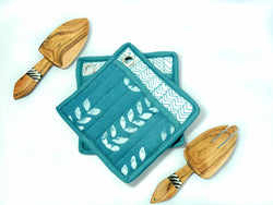 Hot Pad & Spoon Set | Batik - Kenyan materials and design for a fair trade boutique
