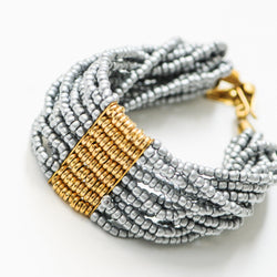 Maasai Classic Bracelet - Kenyan materials and design for a fair trade boutique