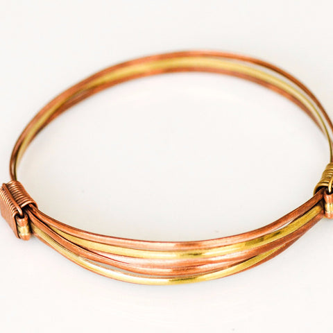 Copper/Brass Adjustable Bangle