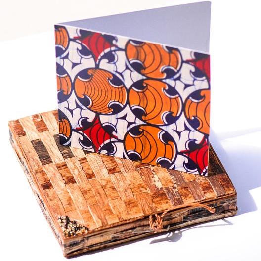 Kitenge Impressions Card Set - Kenyan materials and design for a fair trade boutique