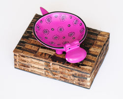 Hippo Soapstone Dish - Kenyan materials and design for a fair trade boutique