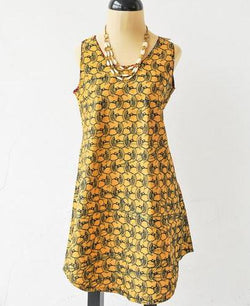 Birds of Paradise Pamba Tunic Top - Kenyan materials and design for a fair trade boutique