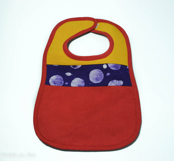 Baby Bib Patch - Kenyan materials and design for a fair trade boutique