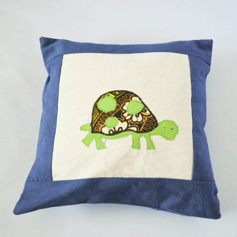 Watoto Animal Pillow - Kenyan materials and design for a fair trade boutique