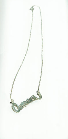Amani Silver Necklace