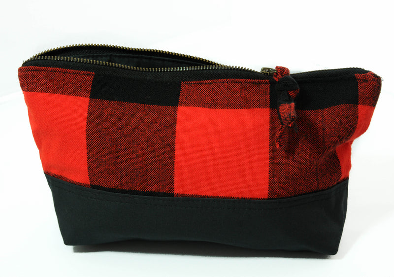 Maasai Travel Pouch - Kenyan materials and design for a fair trade boutique