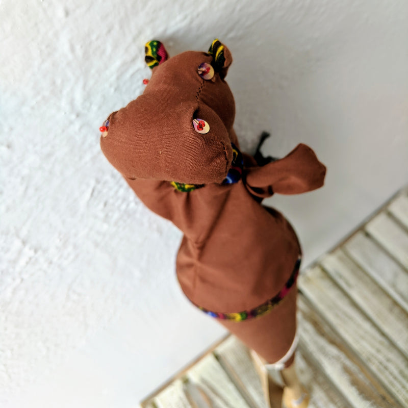 Pop-Up Puppets - Kenyan materials and design for a fair trade boutique