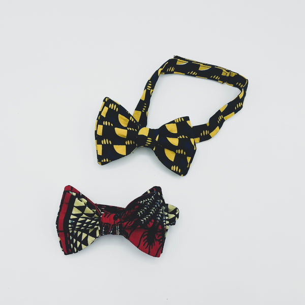 Kitenge Bow Tie - Kenyan materials and design for a fair trade boutique