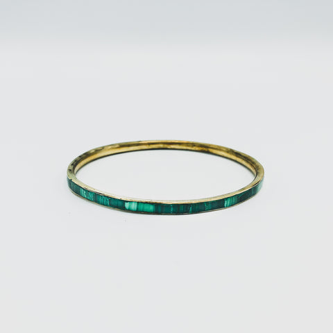 Malachite Bangle - Kenyan materials and design for a fair trade boutique