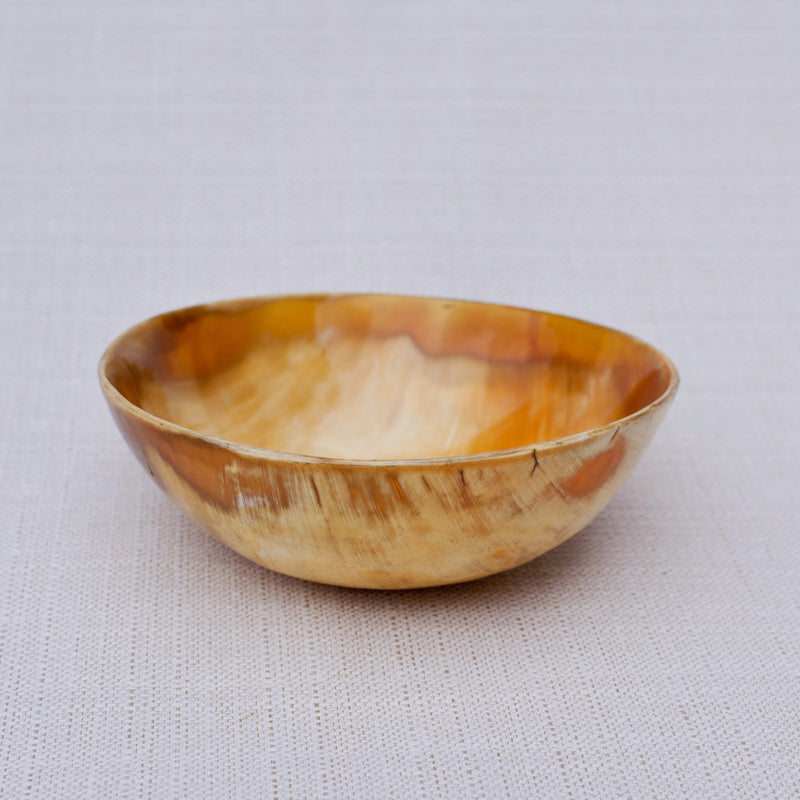 Cow Horn Bowl - Kenyan materials and design for a fair trade boutique