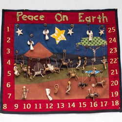 African Advent Calendar - Kenyan materials and design for a fair trade boutique