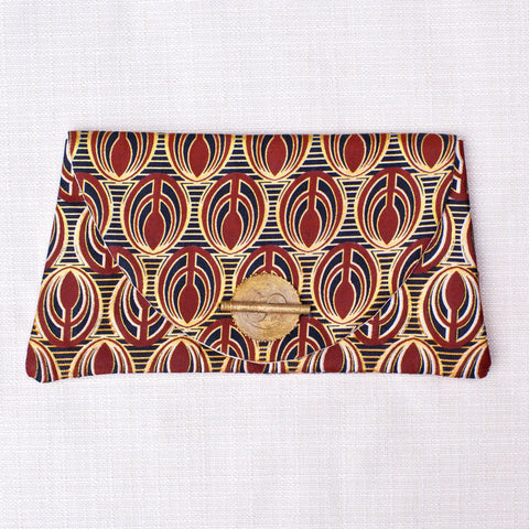 Robertsport Clutch - Kenyan materials and design for a fair trade boutique