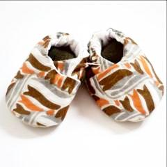 Baby Bootie Set - Kenyan materials and design for a fair trade boutique
