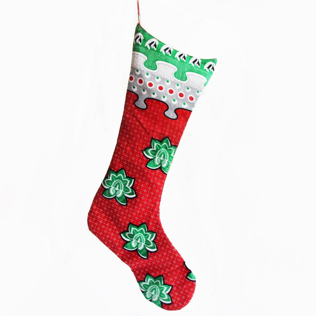 Kanga Christmas Stocking