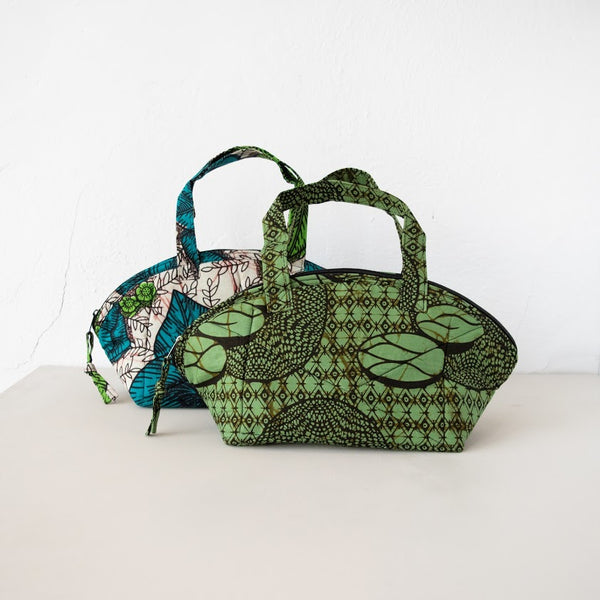 Uganda Toiletry Bag - Kenyan materials and design for a fair trade boutique