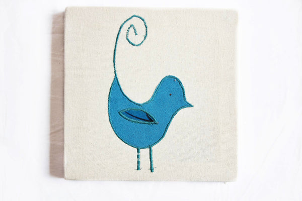 Framed Animal Wall Hangings - Kenyan materials and design for a fair trade boutique