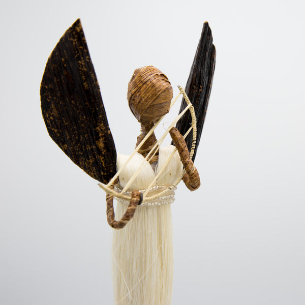 Sisal Angel Figures - Kenyan materials and design for a fair trade boutique